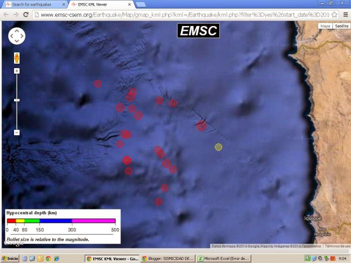 Evacuación del borde costero, fuga de presas en Iquique y suspensión de clases en vastas zonas