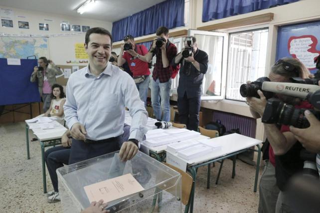 Coalición de izquierda Syriza gana elecciones en Grecia