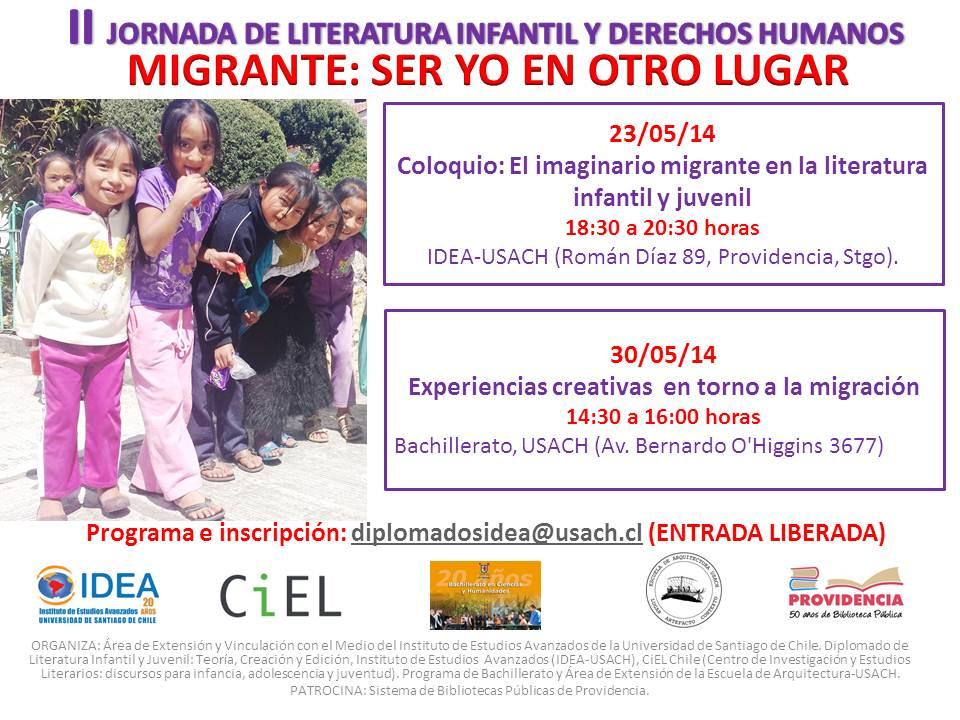 «Ser yo en otro lugar»: debates sobre infancia y migración