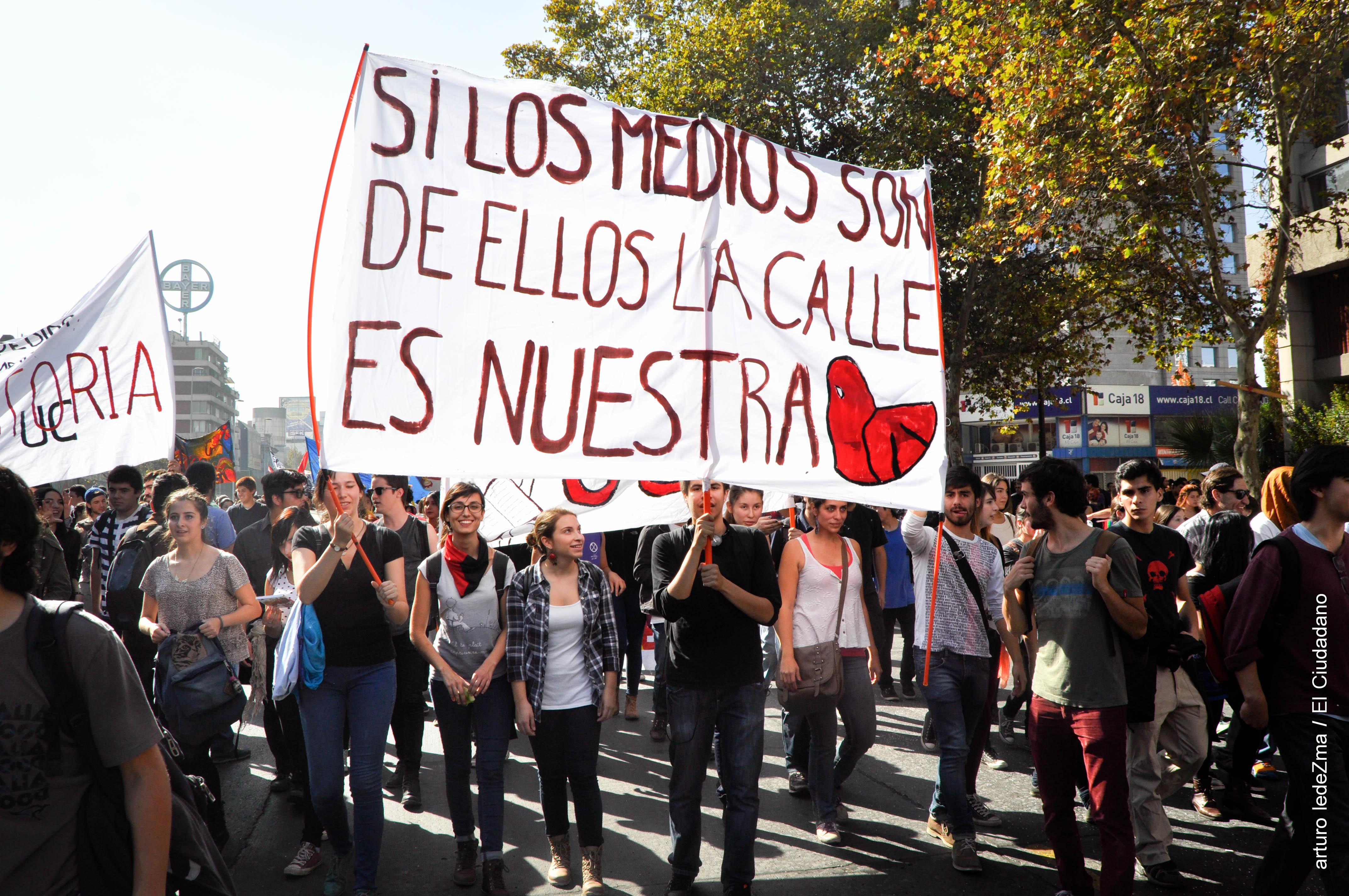 El Ciudadano TV marcha con los estudiantes