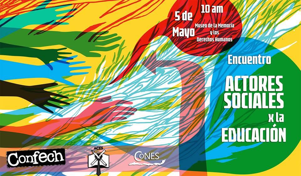 Actores sociales de la Educación se reunirán a discutir perspectivas de cara a la Reforma