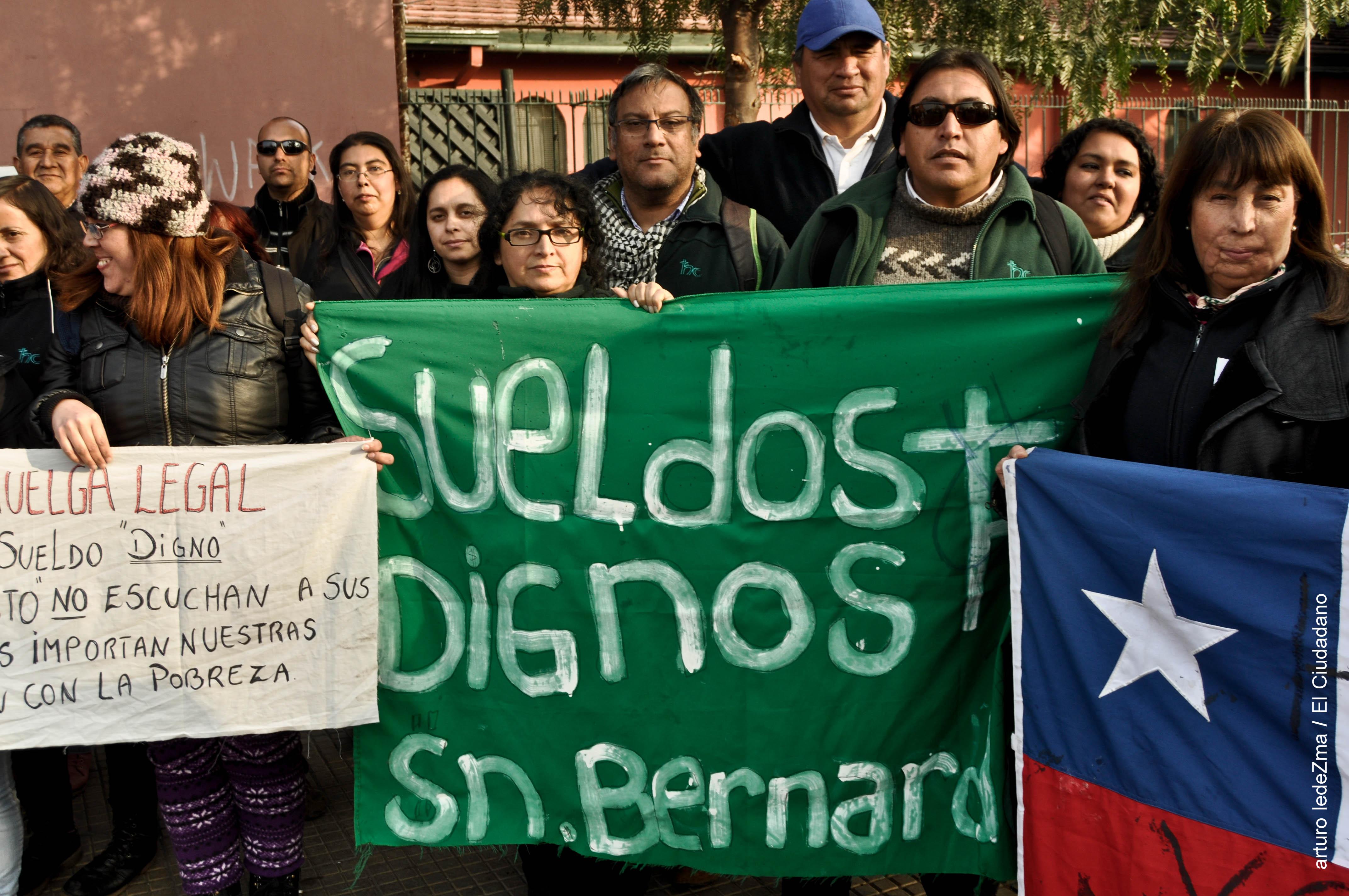 Huelga del Hogar de Cristo / y la muerte por congelamiento del sindicalismo en Chile