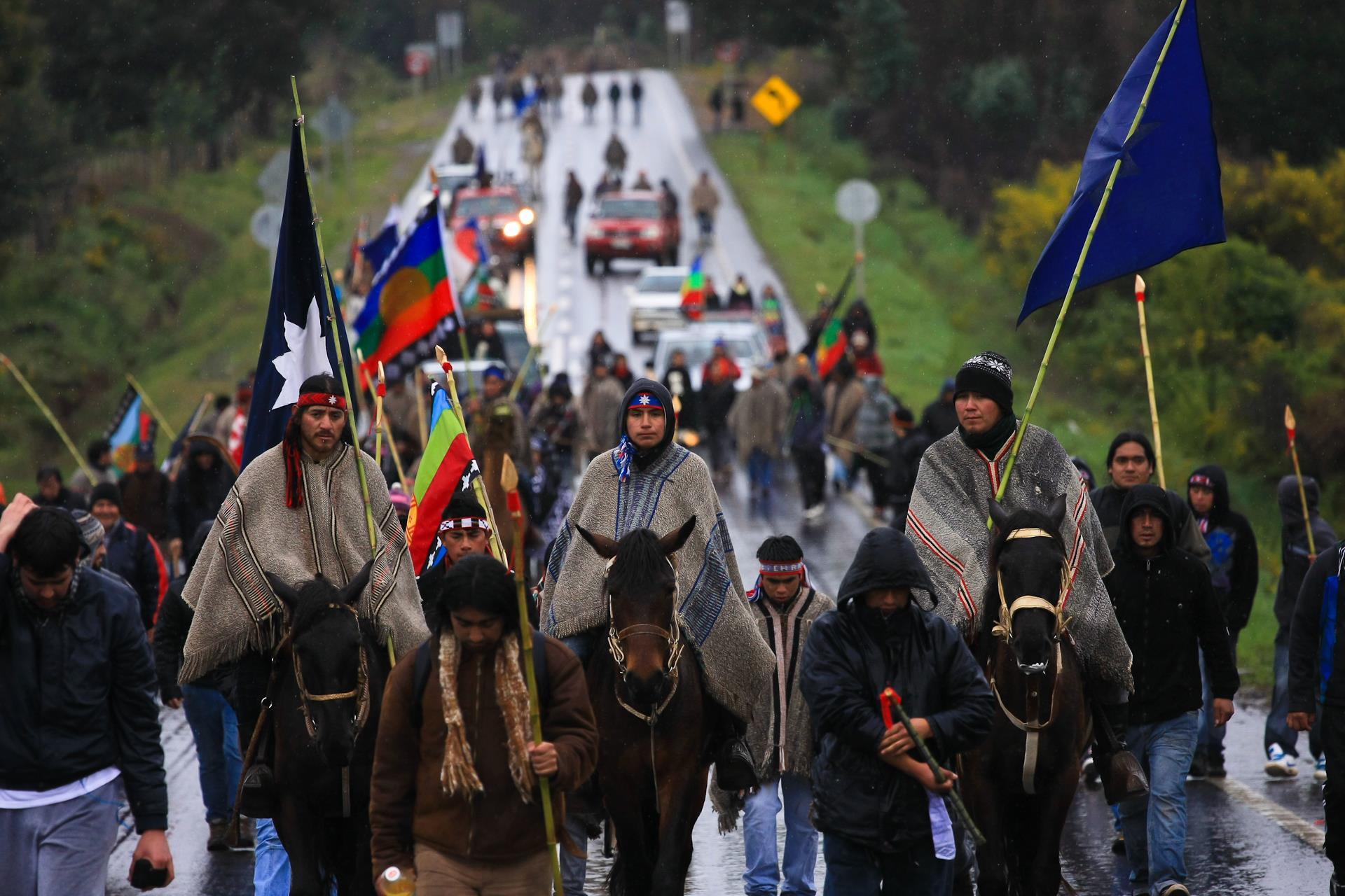 """Senador Navarro: """"La derecha busca cualquier pretexto para menoscabar al pueblo Mapuche"""""""