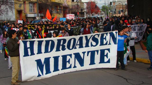 De Ralco a Hidroaysén
