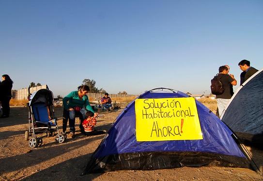 Bienes nacionales desaloja campamento en Arica