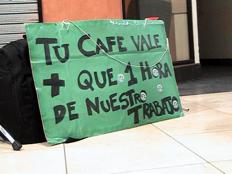 CUT y Sindicato denuncian a Starbucks ante la OCDE