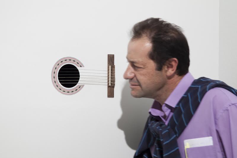 «Viento de la Voz» Instalación sonora de Claudio Correa en exposición «De Naturaleza Violenta».