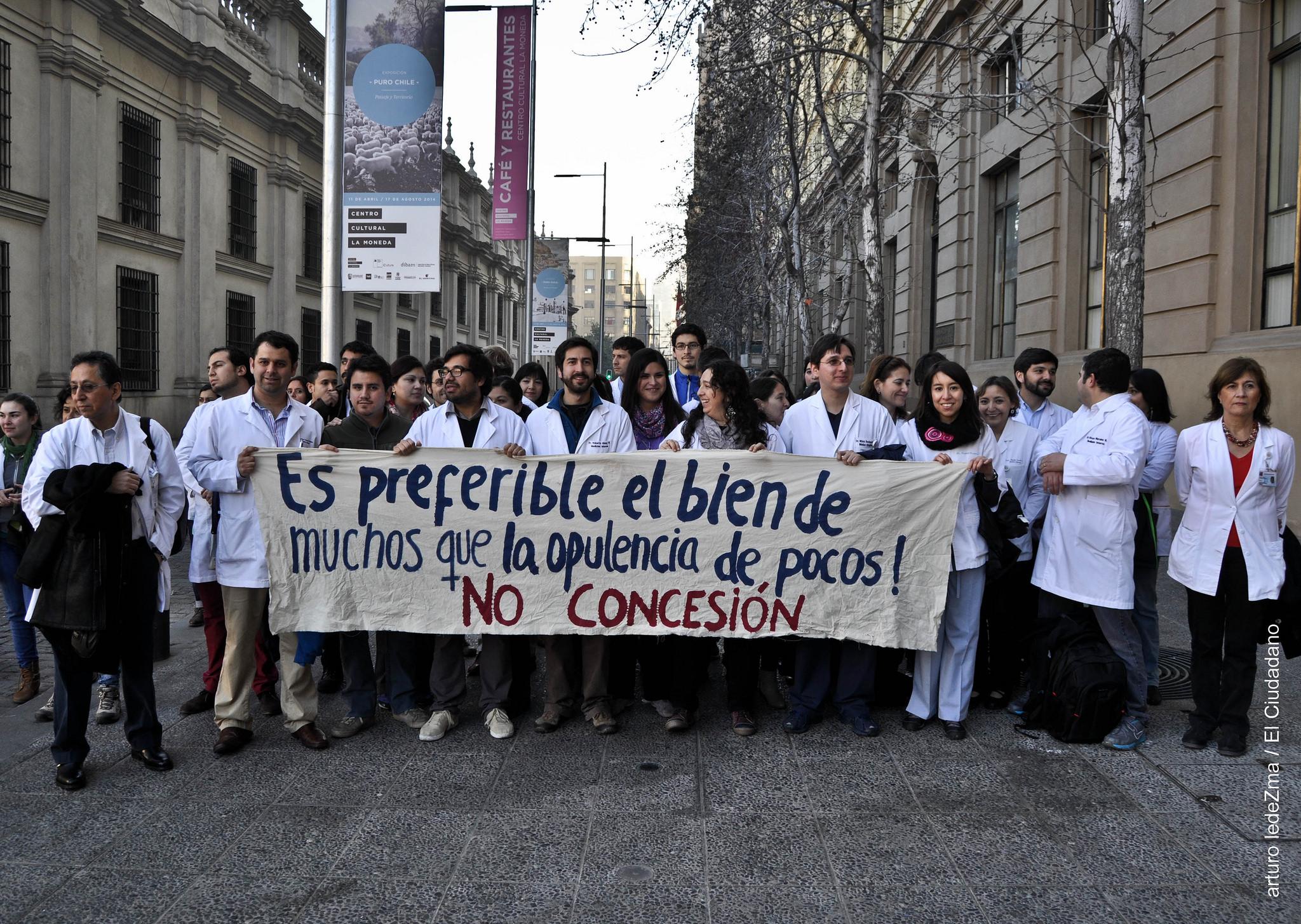 La enfermedad de la Salud en Chile