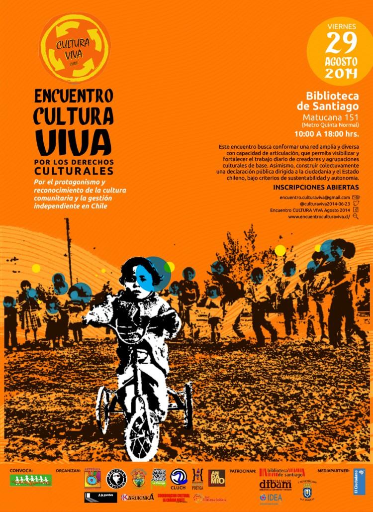 Invitan al Primer Encuentro Cultura Viva, de gestores y centros culturales