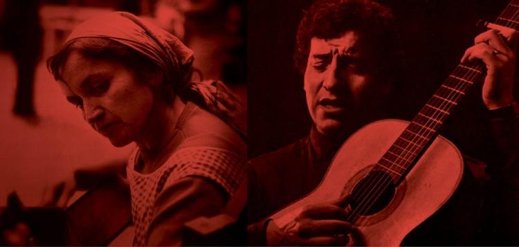 Cantan a Violeta Parra y Víctor Jara en el Teatro U. de Chile