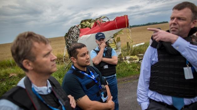 Un avión militar ucraniano intenta atacar a expertos en el lugar del siniestro del MH17