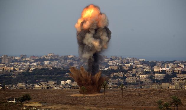 Israel cumple una semana atacando la Franja de Gaza