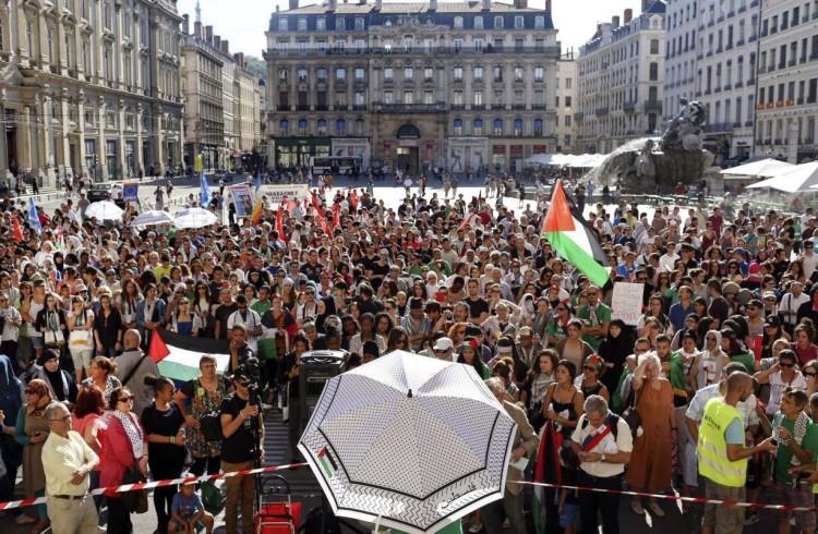 Misión palestina en Francia recibió amenazas de muerte desde Israel