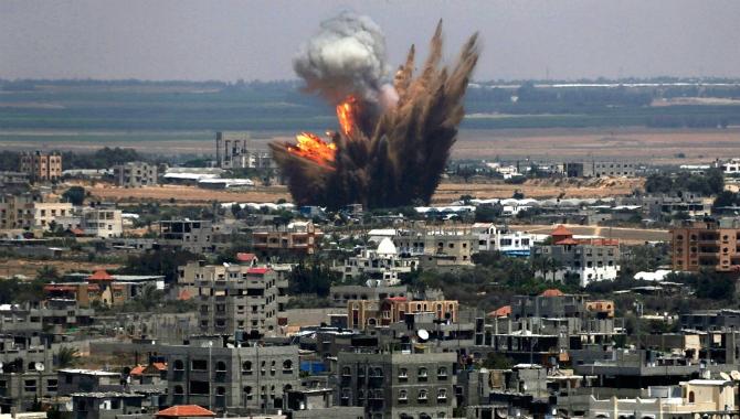 Varios muertos en el bombardeo israelí de un refugio de la ONU en Gaza