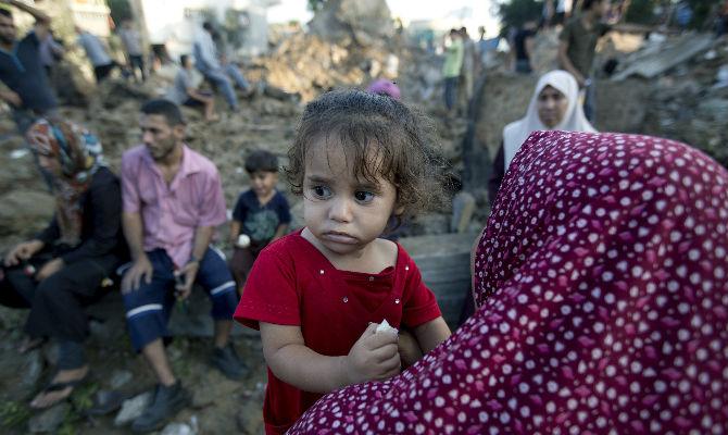 El terrible precio que están pagando los niños palestinos por la guerra de Israel contra Hamas