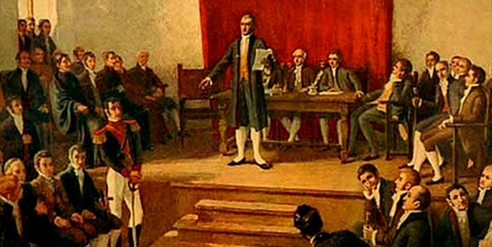 Celebran 203 años de la instalación del Primer Congreso Nacional