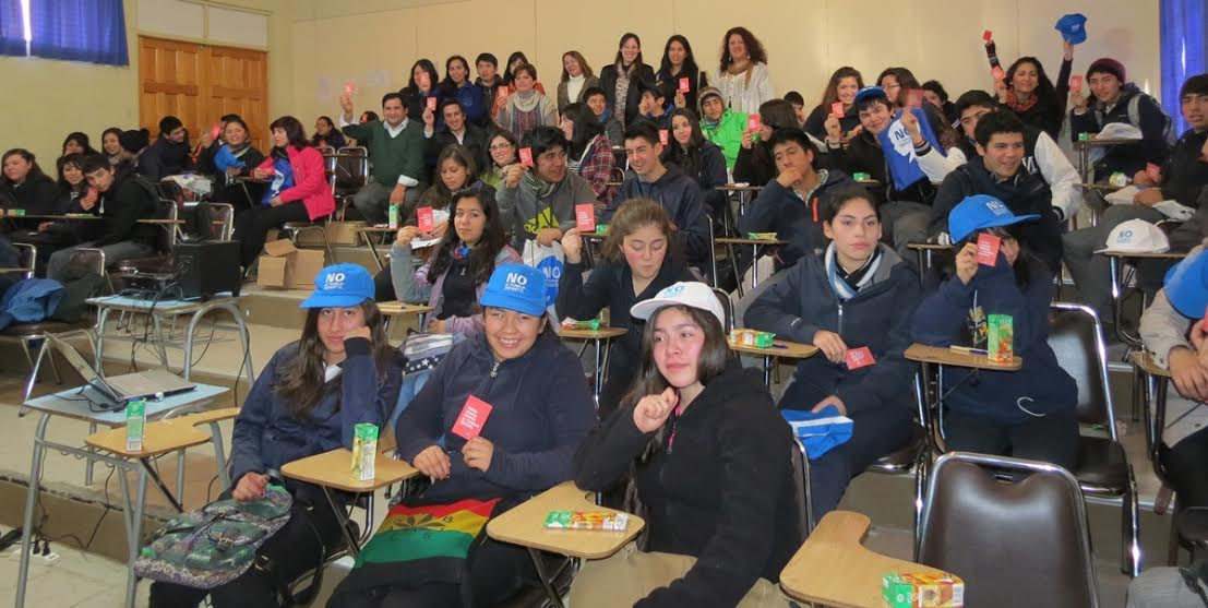 Campaña de erradicación del trabajo infantil se trasladó hasta Chile Chico