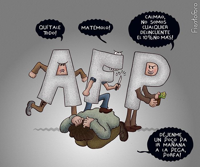 La bancarrota de las AFP