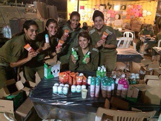 Garnier «desaprueba» el envío de cosméticos a soldados israelíes