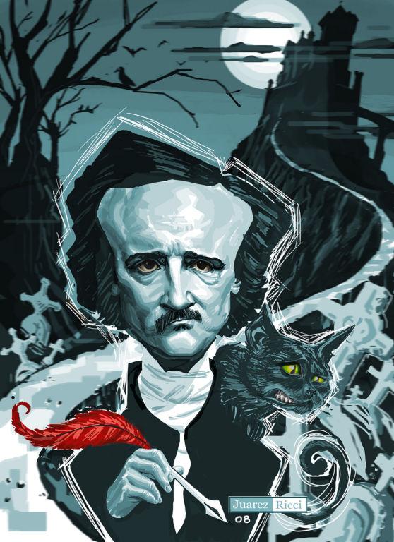 """Edgar Allan Poe: Caterina y """"El gato negro"""" real"""