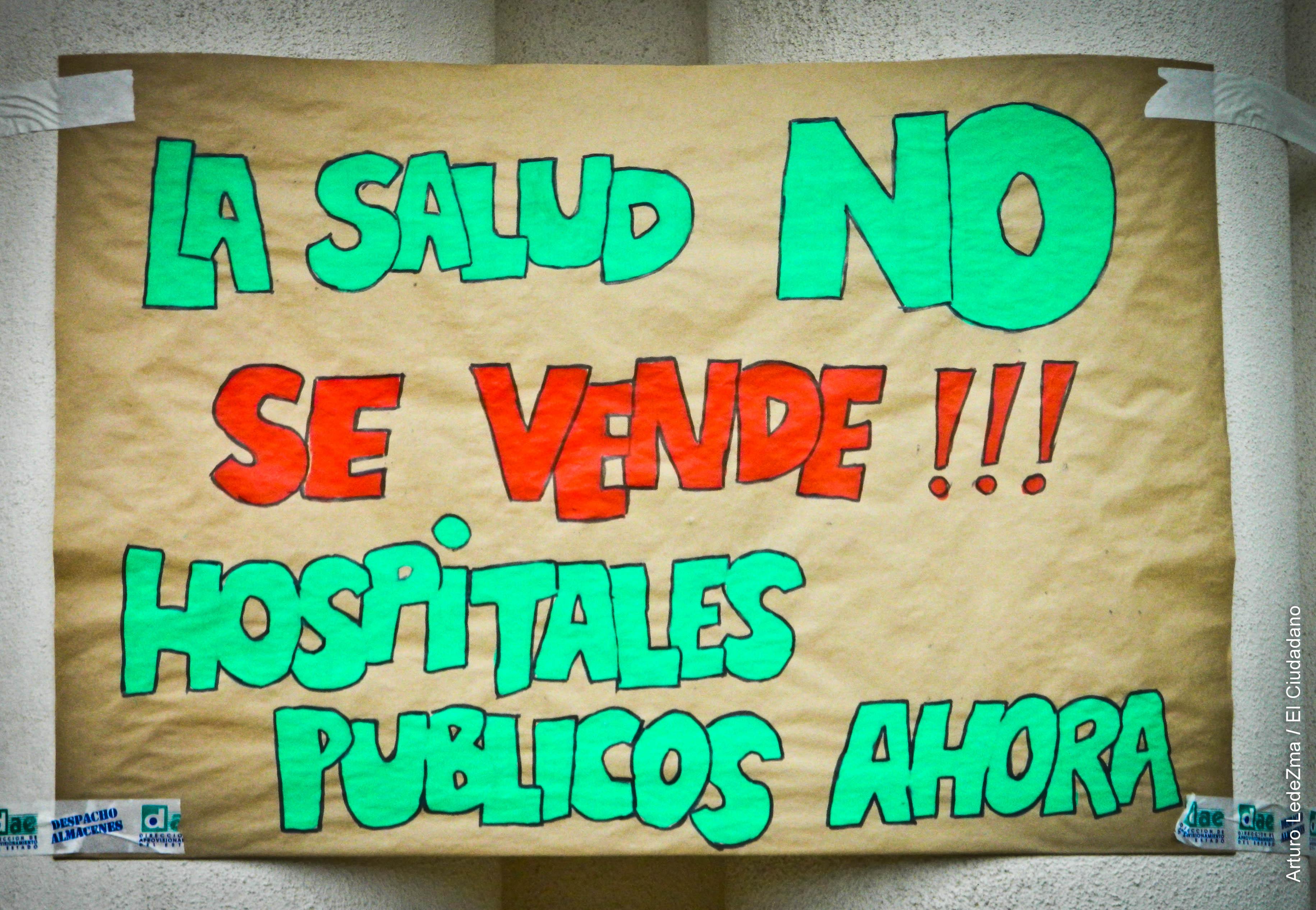 Trabajadores del Hospital Salvador suspenden el Paro para dar paso a la mesa de trabajo