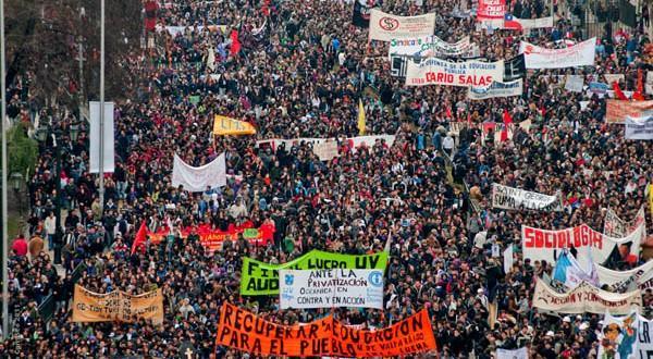 La hoz y el martillo contra el movimiento estudiantil