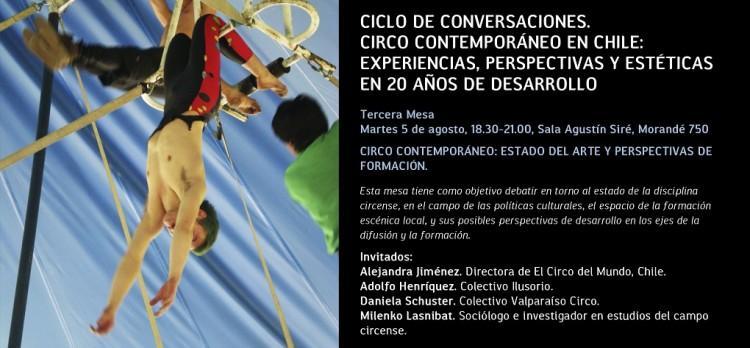 Ciclo de conversaciones en torno al circo contemporáneo