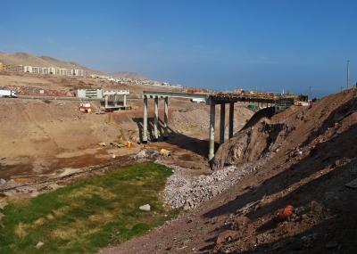 Puente de la Coviefi ya tiene un 47% de avance en sus obras