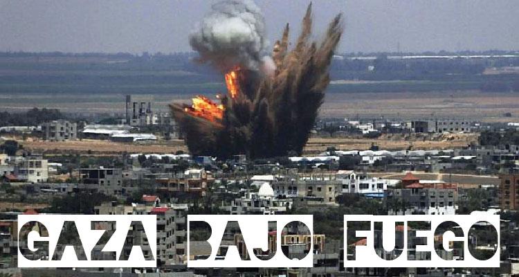 Páginas de Facebook con información oficial sobre ataques en Gaza