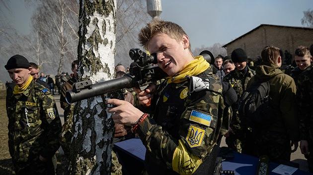 EEUU financiará con 19 millones de dólares a la Guardia Nacional de Ucrania