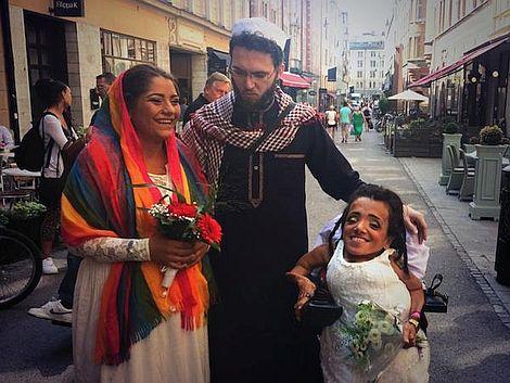 Las primeras lesbianas de Irán que se casan por el rito musulmán