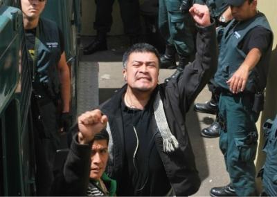 Presos mapuche no descartan nueva huelga de hambre