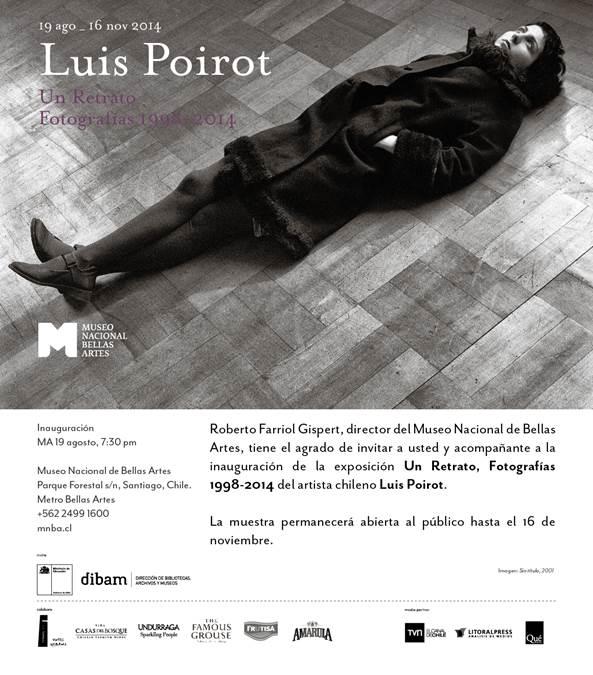 Un Retrato, Fotografías 1998-2014 Luis Poirot