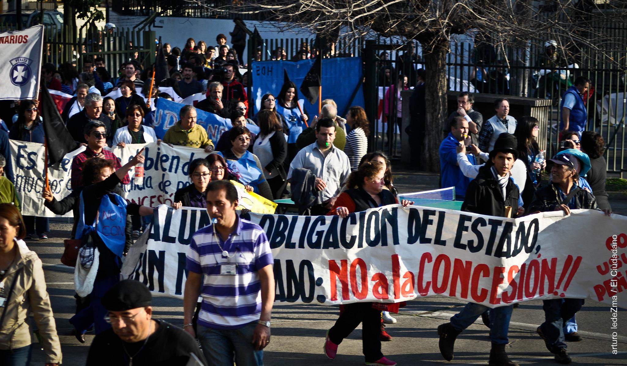 «Ley Salvador»: No a las concesiones hospitalarias