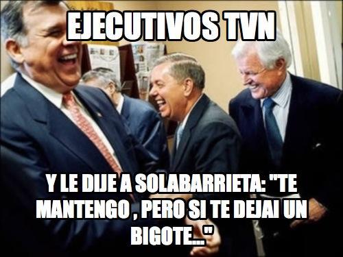 El bigote de Solabarrieta y su respectivo bulling en twitter