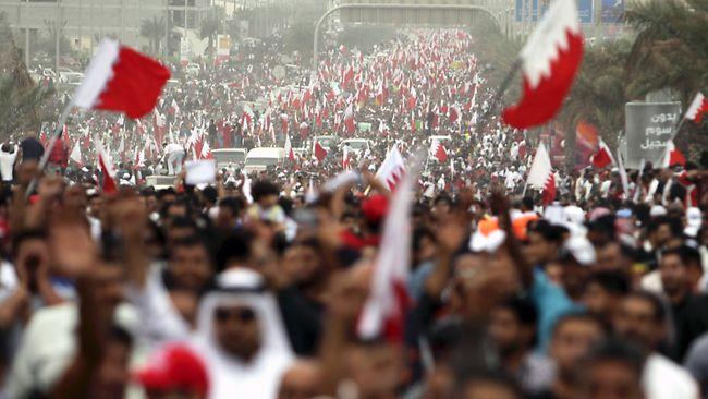 Baréin prohíbe protestas antigubernamentales
