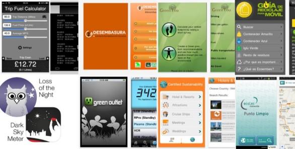 Las 8 mejores aplicaciones ecológicas para móviles