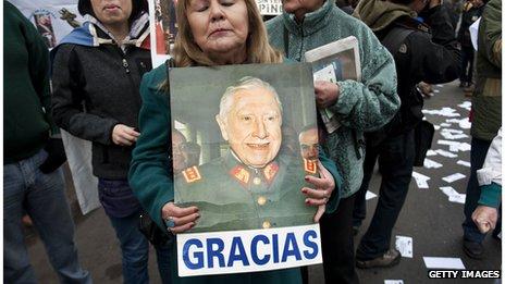 La gente que todavía ama a Pinochet