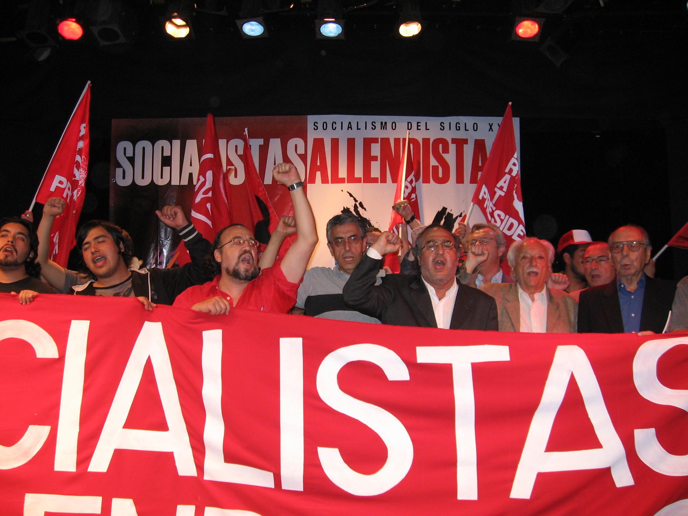 «Para el Socialismo Allendista derogar la Ley Antiterrorista sigue siendo indispensable»