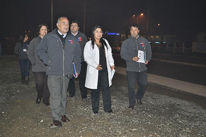 16 alertas sanitarias en Talca y 3 en Curicó por contaminación del aire