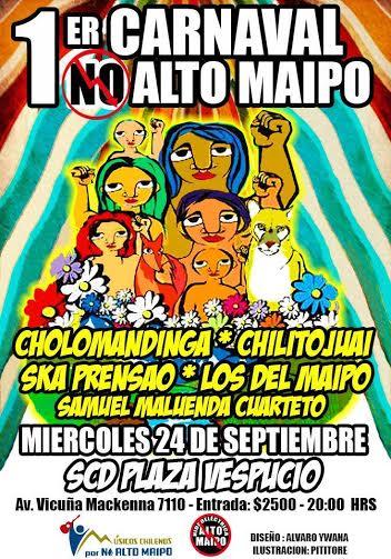 Comienzan importantes carnavales musicales por No Alto Maipo