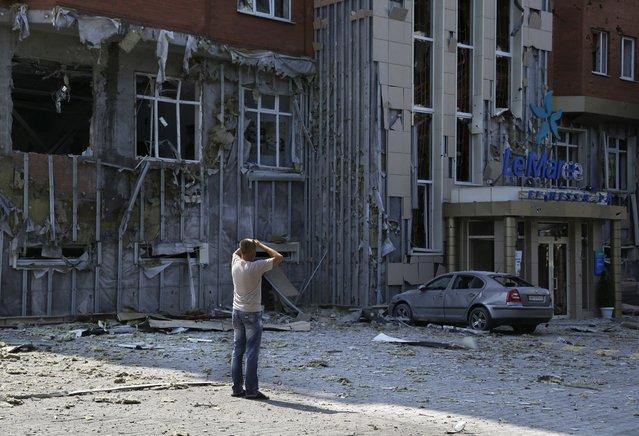 Ejército ucraniano bombardea una escuela y asesina a 10 personas en Donetsk