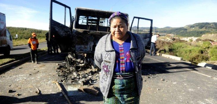 Rigoberta Menchú sobre demandas de los pueblos originarios: «Hace falta un reenfoque de la política pública»