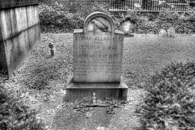 Las 7 hipótesis sobre la muerte de Edgar Allan Poe