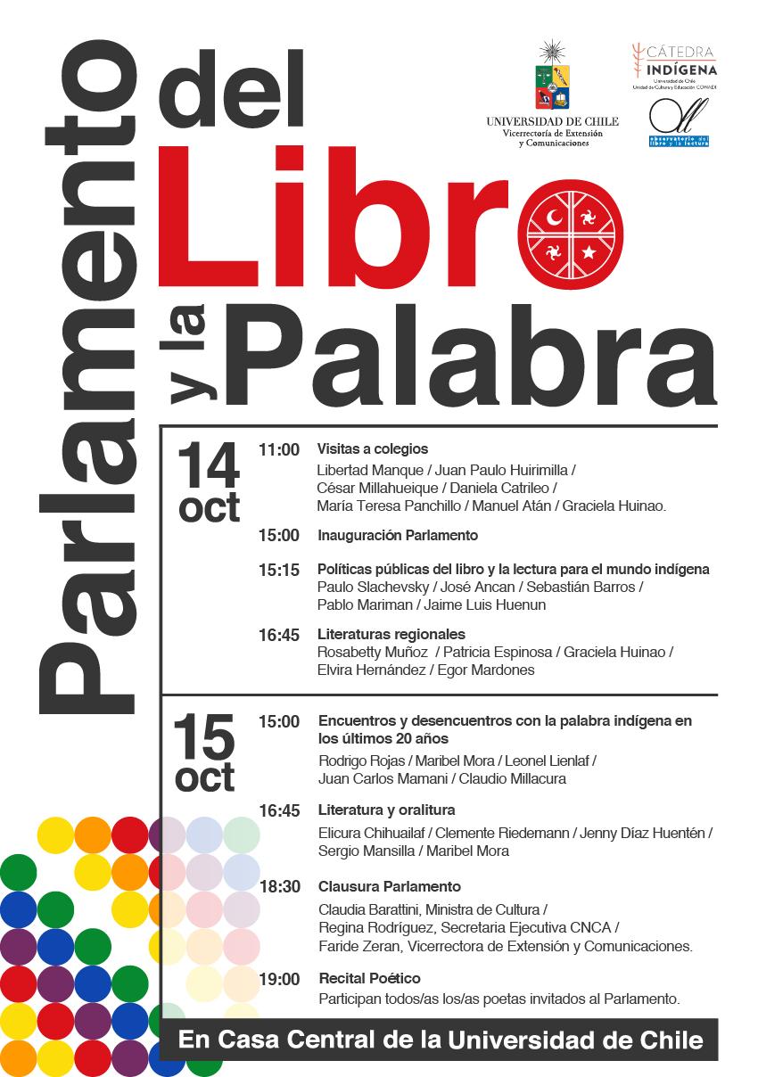 Universidad de Chile realiza primer encuentro sobre políticas de publicación literaria indígena