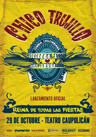 Chico Trujillo presentará nuevo disco en Teatro Caupolicán