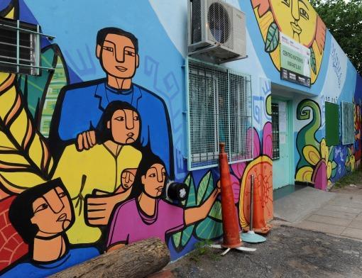 Artistas de Latinoamérica participan de Museo a Cielo Abierto
