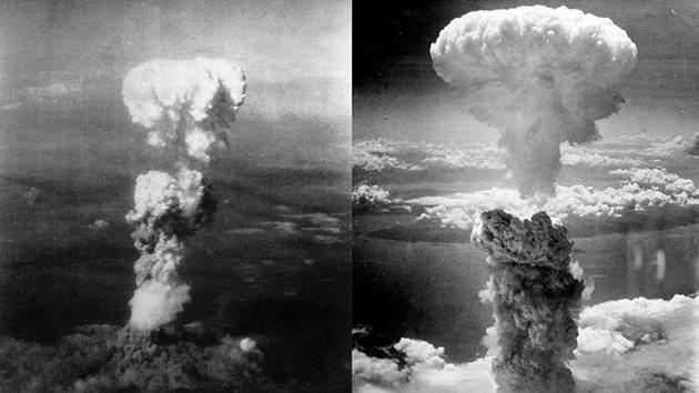 Fotos: Desclasifican imágenes de la puesta a punto de las bombas de Hiroshima y Nagasaki