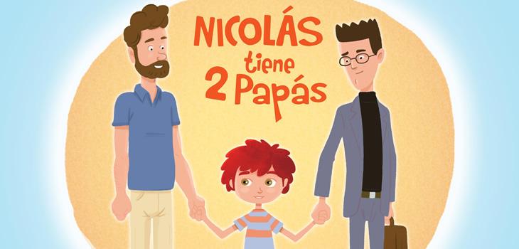 """Corte rechaza recurso de protección contra """"Nicolás tiene dos papás"""""""