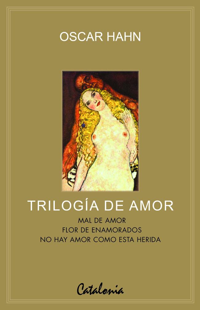 Trilogía de amor de Óscar Hahn: fantasmas y erotismo
